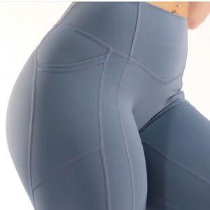 til you collapse effortless heart booty leggings